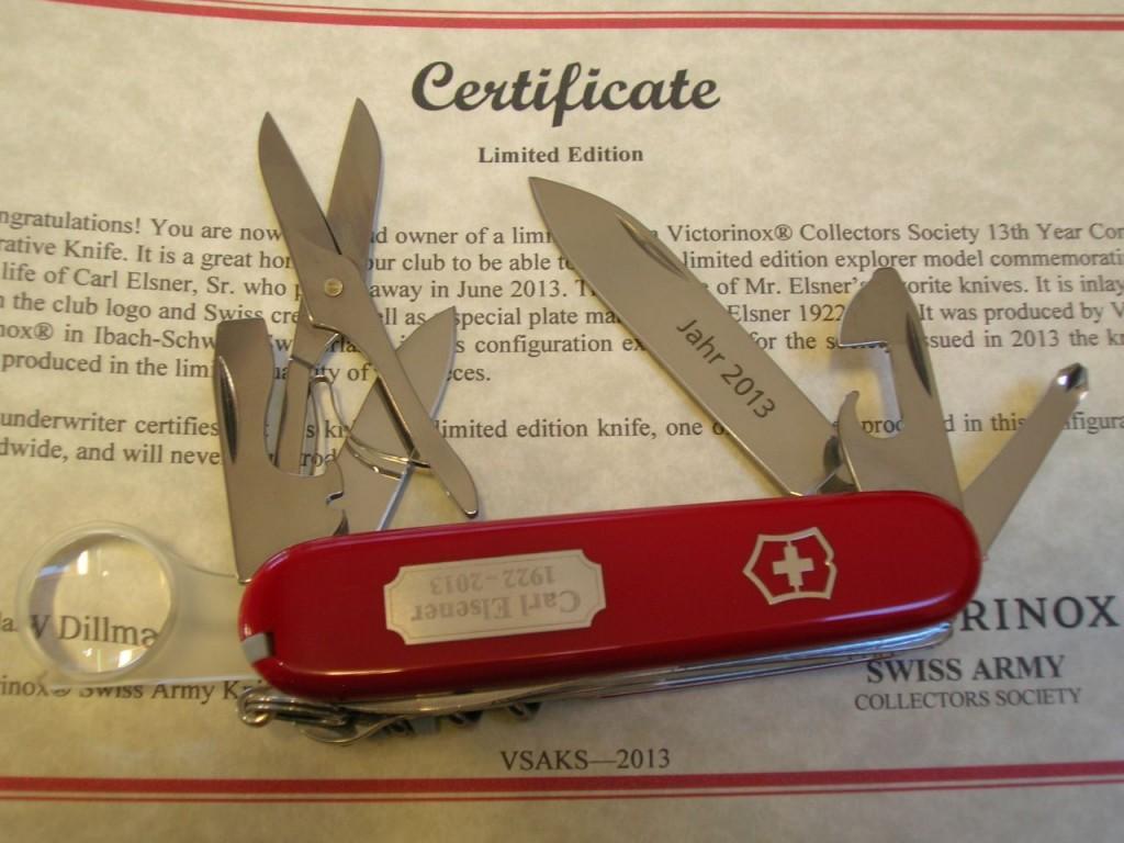 Explorer Swiss Knives Info