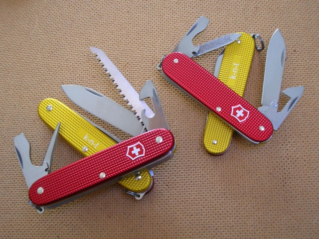 Farmer and Cadet red gold k-n-t set