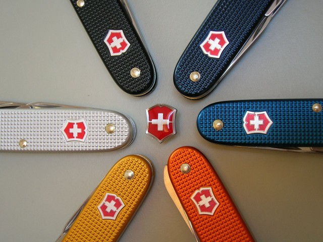 Victorinox Alox Shield Variations Swiss Knives Info