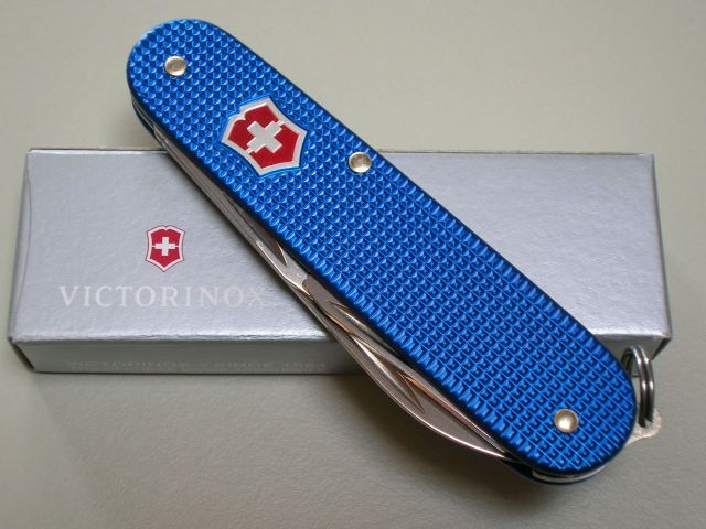 Blue Cadet With Red Shield Swiss Knives Info