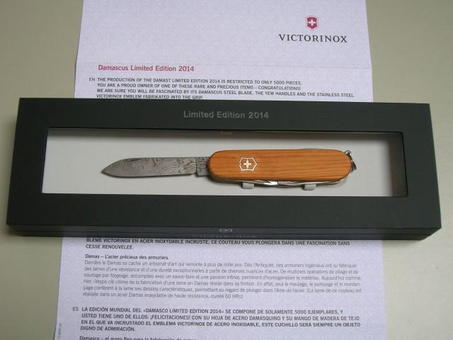 Damascus Swiss Knives Info